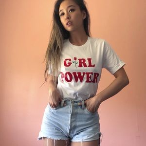 Girl Power Feminist Graphic Tee